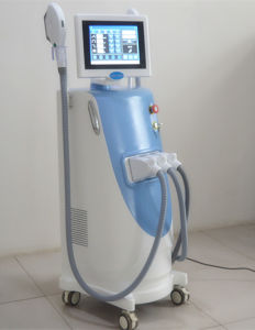 Vertical Clinic Use High Power and Energy Hair Removal Machine