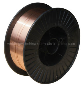 MIG/ Mag CO2 Gas Shielded 0.8mm 15kg Plastic Spool Welding Wire (AWS ER70S-6)