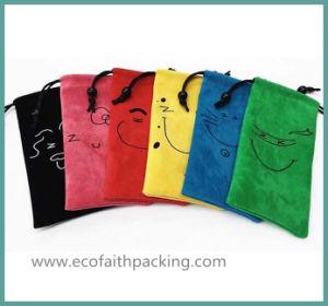 Fashionable Personalized Velvet Cellphone Bag