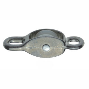Zinc Alloy Nickel or Chrome Plated Pulley with Single Nylon Wheel Model Dr-503z pictures & photos