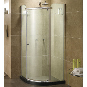 China Bath And Shower Nevada 38 In Pure Acrylic Neo Round Corner Shower Stall