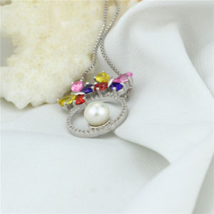 Colorful Zircon Fashionable Pure Natural Pearl Pendant pictures & photos