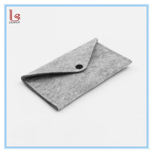 Wholesale Fashion Clutch Wool Felts Wallet pictures & photos