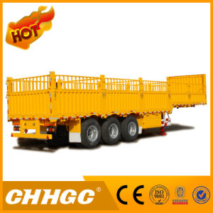 Heavy Duty Type Stake/Cargo Semi Trailer (payload 70T) pictures & photos