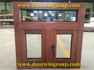 Aluminum Clad Solid Oak Wood Casement/Awning Window pictures & photos