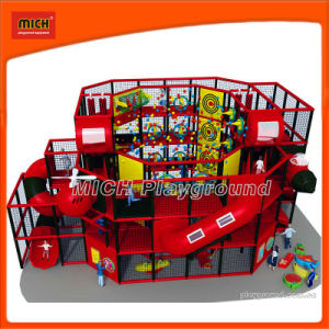 Red Series Kid Indoor Playground Castle for Amusement pictures & photos