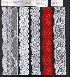 Different Width Stretch Raschel Lace Trim (with oeko-tex certification W70032) pictures & photos