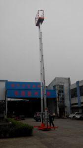 Aluminium Alloy Aerial Lift Platform pictures & photos