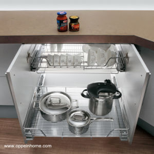 Oppein Kitchen Appliance Under Sink Pull out Basket (OP-LA060TC) pictures & photos