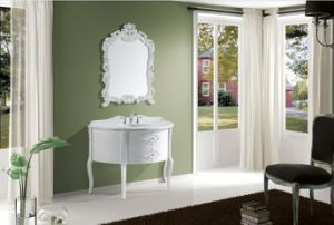 Pure White New Classical Bathroom Vanity pictures & photos