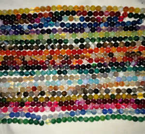 Semi Precious Stone Striped Banded Agate Crystal Bead pictures & photos