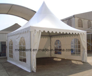 5*5m Aluminum Frame Pop up Pagoda Tente pictures & photos