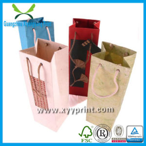 Eco-Friendly Promotional Wine Paper Bag for Packing and Package pictures & photos