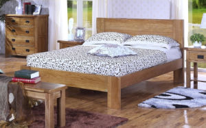 Modern Design Popular Adult Wooden Bed pictures & photos