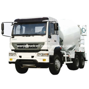 Golden Prince Driving Type 6*4 Zz1251m3241W Mixer Truck pictures & photos