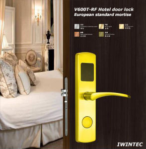 Hotel Lock (V6600T-RF-PB) pictures & photos