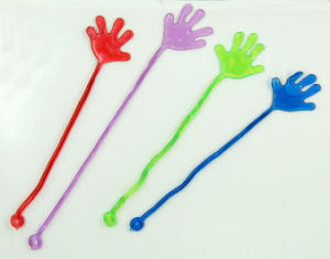 Mini Plastic Sticky Hand with Yoyo Gift Toys