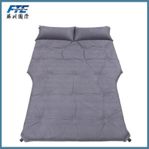 Portable Sleeping Mattress Travel PVC Flocking Inflatable Car Air Bed pictures & photos