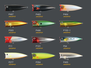 Plastic Lure (Jackpot Popper 75mm Floating) pictures & photos