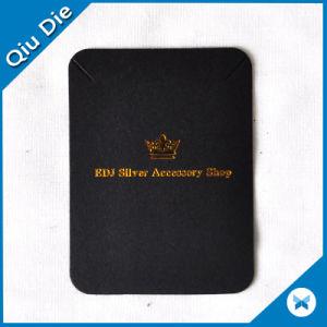 Custom Printed/Embossed Black Earring Packaging Card pictures & photos
