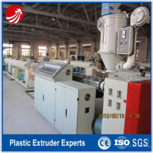PE-Rt Hot Water Floor Heating Pipe Tube Extruder Extrusion Line pictures & photos