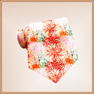 Fashion Narrow Polyester Digital Printed Poly Tie pictures & photos