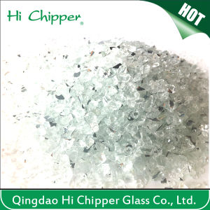 Crushed Terrazzo Decorative Mirror Glass Chips pictures & photos