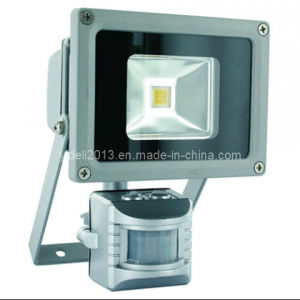 12V 24V Solar LED Flood Light Outdoor with PIR Motion Sensor pictures & photos