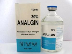 Novalgin/Analgin/Metamizole Sodium 30% Injection pictures & photos