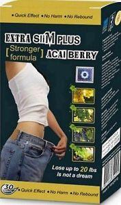 1 Box Diet Pills! Extra Slim Plus Acai Berry pictures & photos