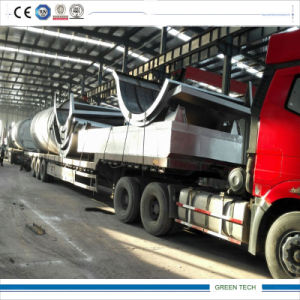 High Configuration Pyrolysis Line for Used Tire Refining to Oil pictures & photos