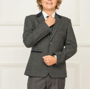 Junior School Uniforms Custom Grey Suit Sets for Graduation or Party pictures & photos