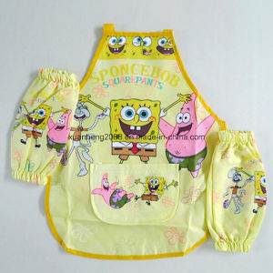 100% Cotton Kids Apron for Cartoon pictures & photos