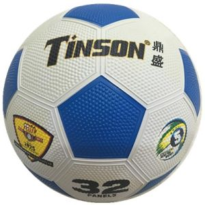 Rubber Colorful Pebble Surface Soccer pictures & photos