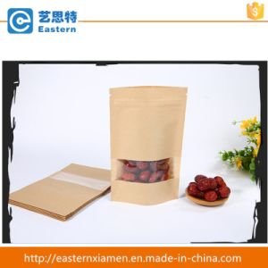 Food Craft Paper Bag with Window pictures & photos