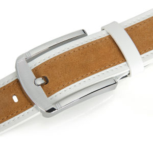 Classic and Basic Men Leather Belt with Split Leather pictures & photos