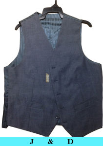 Polyester/Wool Mixed Waistcoat pictures & photos
