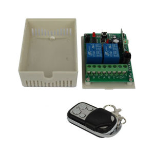 Wireless RF Remote Control Switch Receiver Module DC 12V 315MHz 2 Channel pictures & photos