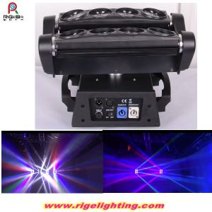 8PCS*10W RGBW LED Spider Moving Head Beam Stage Light pictures & photos