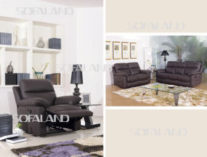 Promotional Living Room Furniture Leather Sofa (C822#) pictures & photos