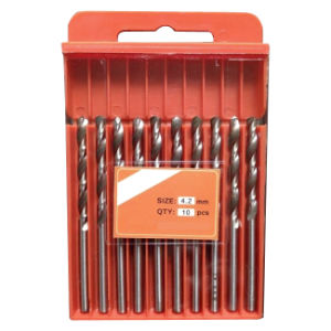 Fully Ground HSS Jobber Drill Bits with Bright Finish (JL-HSFW) pictures & photos