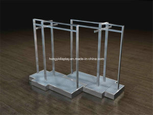 Funtional Metal Garment Rack for Retail Store, Gondola Stand pictures & photos