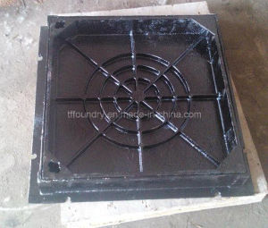 Double Seal Solid Top Manhole Covers with Frames pictures & photos