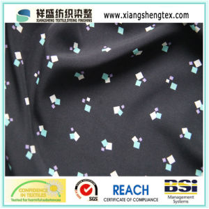 100% Polyester Washed Velvet Printed Fabric pictures & photos