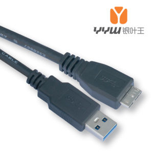 USB 3.0 a Male to Micro B Note 3 Data Copper Conductor Cable