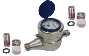Stainless Steel Dry-Dial Water Meter