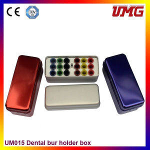18 Holes Aluminium Dental Burs Holder Dental Storage Boxes pictures & photos