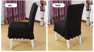Stretch Removable Washable Short Dining Slipcover Chair Protector Cover pictures & photos
