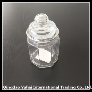 250ml Clear Faceted Jar pictures & photos