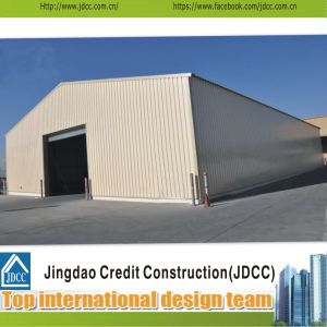 Iron Sheet Multi Span Steel Structure Garage pictures & photos